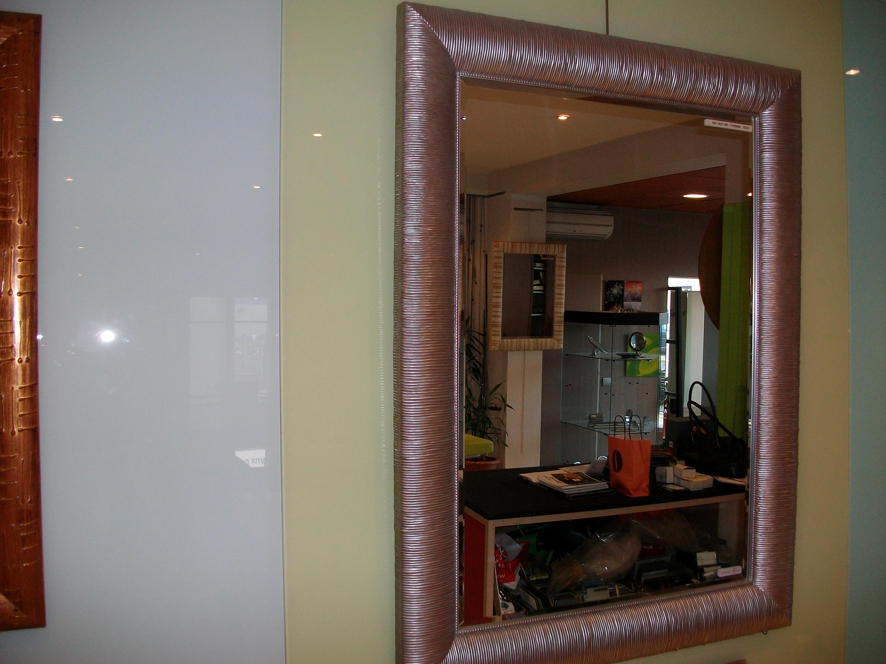 Un miroir encadré : une belle idée cadeau !