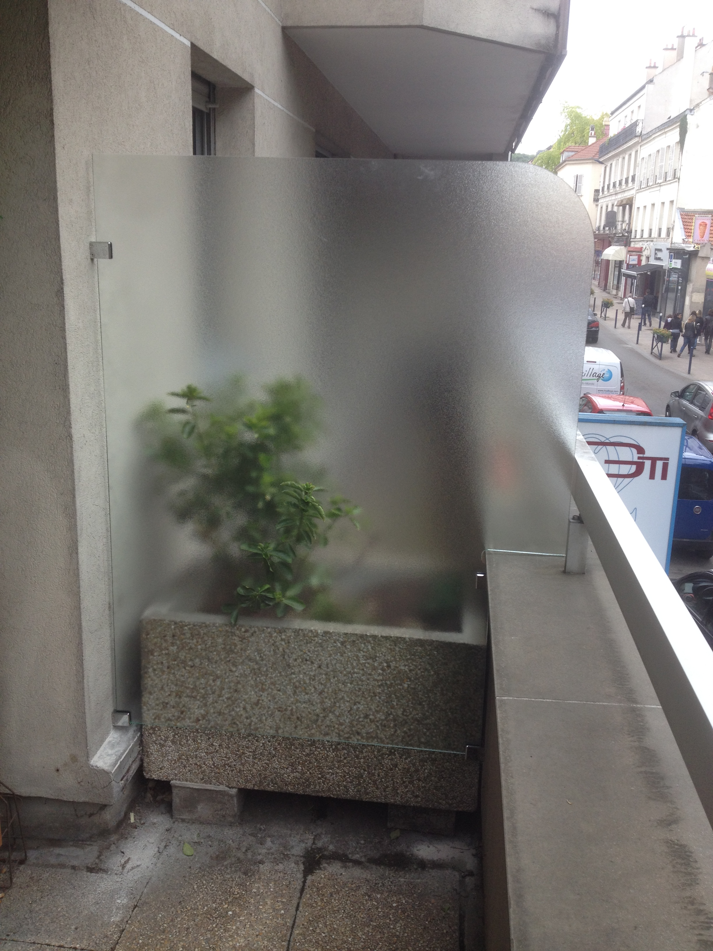 Miroiterie Clamart se rapportant à agencement pagegarde-corps séparation de balcon - miroiterie de clamart