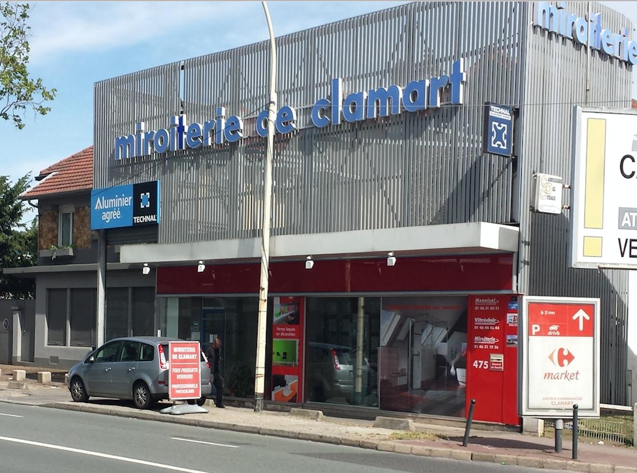 Miroiterie Clamart se rapportant à essai vue magasin - miroiterie de clamart